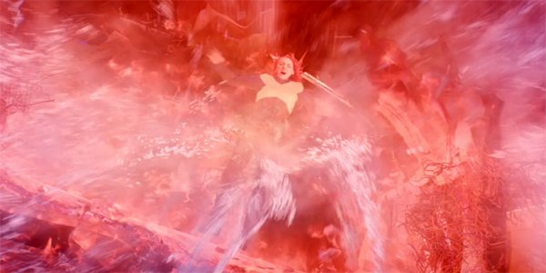Phoenix In space Dark Phoenix