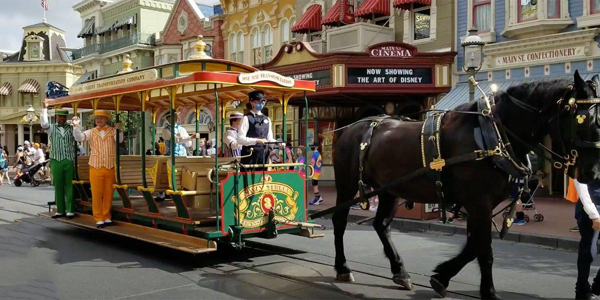 Disney main street 2020