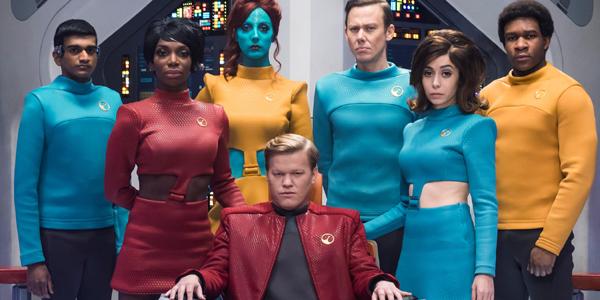 Black Mirror: USS Callister cast Netflix