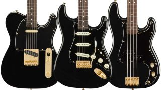 Fender strikes gold with none-more-black Midnight guitars