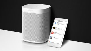 The Sonos One now supports Amazon's Alexa and Siri via AirPlay 2.