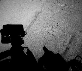 Mars Rover Curiosity's First Long Backward Drive