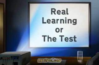 Forget Real Learning???? … Get Them Ready For The Test????