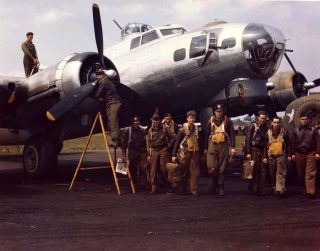 'Masters of The Air' - the American Air Force in World War Two.