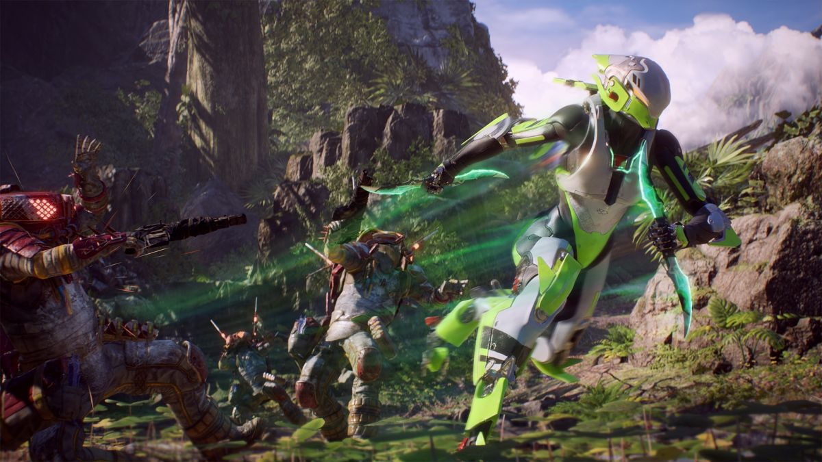 Anthem players are finally getting to try The Cataclysm