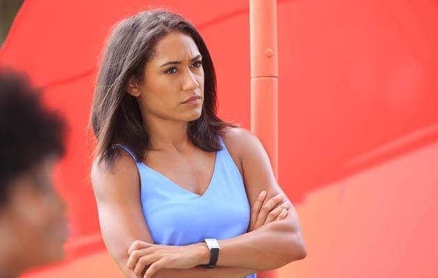 JOSEPHINE JOBERT PLAYS FLORENCE CASSELL IN DEATH IN PARADISE