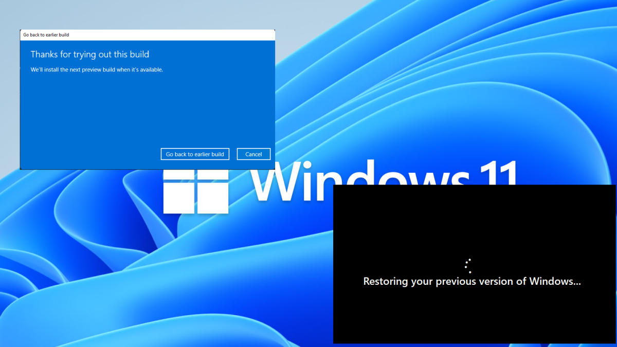 How to Uninstall Windows 11 and Roll Back to Windows 10