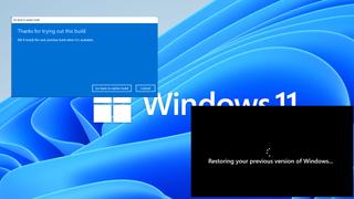 Uninstall Windows 11