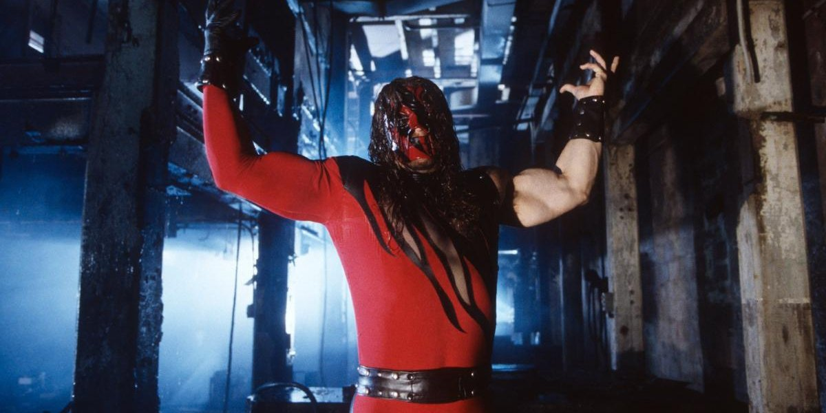 Kane in a WWE promo video