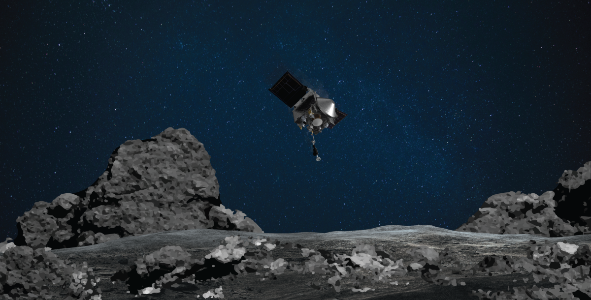 See how NASA's OSIRIS-REx will sample asteroid Bennu in this 360-degree video