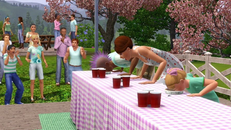 The Sims 3 Seasons Screenshots Features A Sim For All Seasons #23222