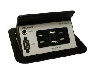 Altinex Debuts TNP358 Tilt 'N Plug Interconnect Box