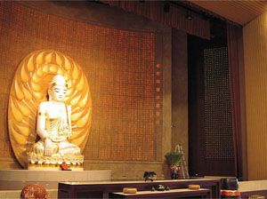 Buddhist Temple Opts For All-QSC System