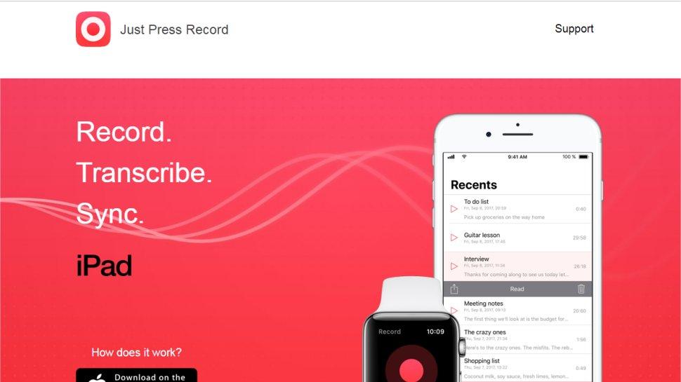 Just Press Record