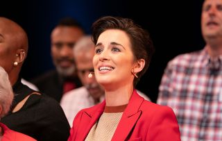 Line of Duty star Vicky McClure singing in her show Our Dementia Choir