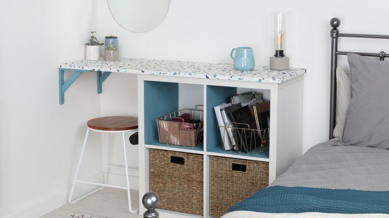 DIY dressing table hack from Rust-Oleum