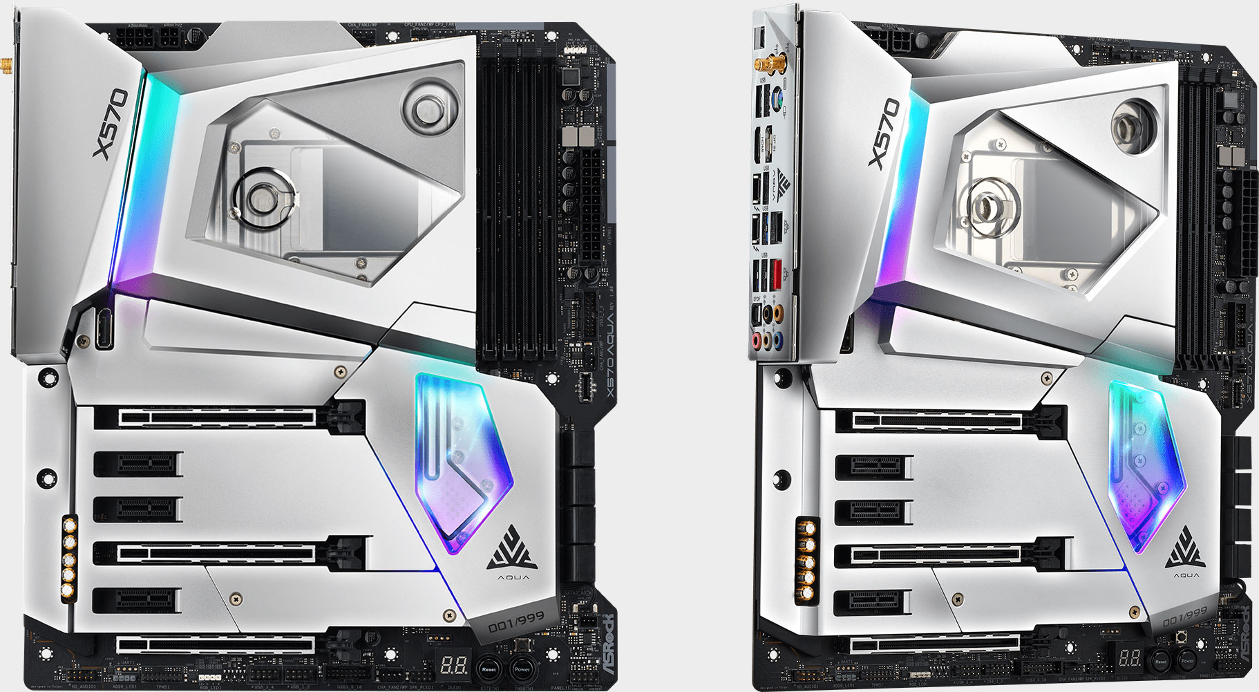 ASRock's X570 Aqua is a completely liquid cooled motherboard | PC Gamer