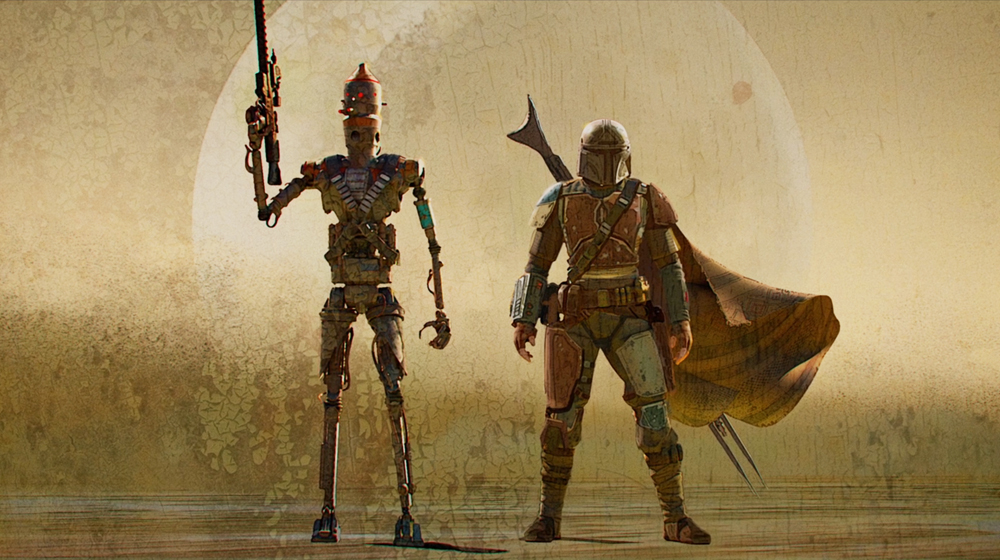 The Mandalorian Episode 1 Perfects The Small Screen Sci Fi Western Space