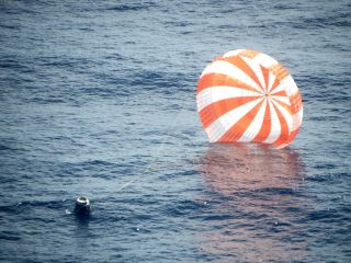 SpaceX Dragon Splashdown