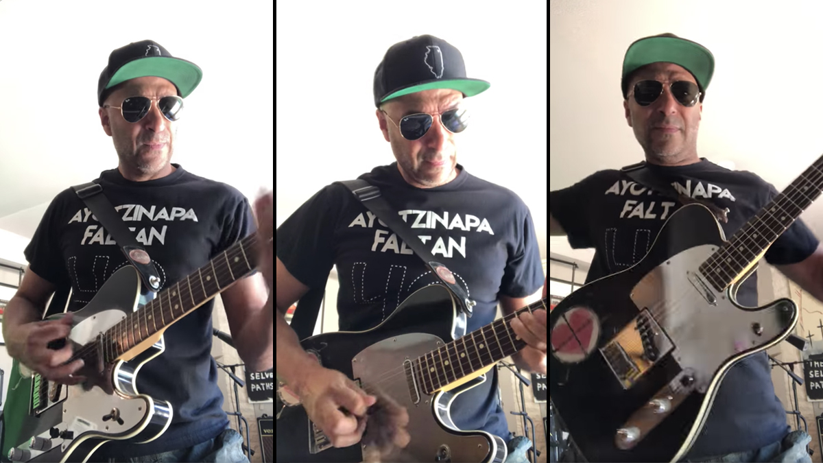 Is Fender working on a Tom Morello 'Soul Power' Telecaster?