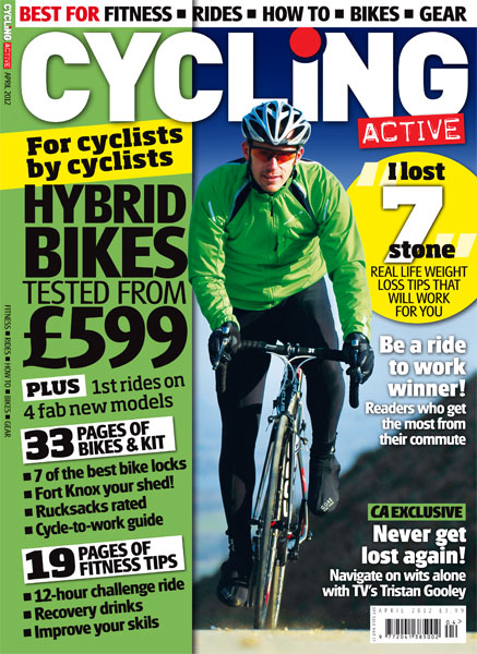 Cycling Active April 2012 issue