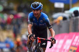Giro dItalia 2020 103rd Edition 9th stage San Salvo Roccaraso Aremogna 208 km 11102020 Domenico Pozzovivo ITA NTT Pro Cycling photo Dario BelingheriBettiniPhoto2020