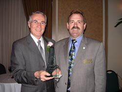 Shure's Schroeder Receives Award