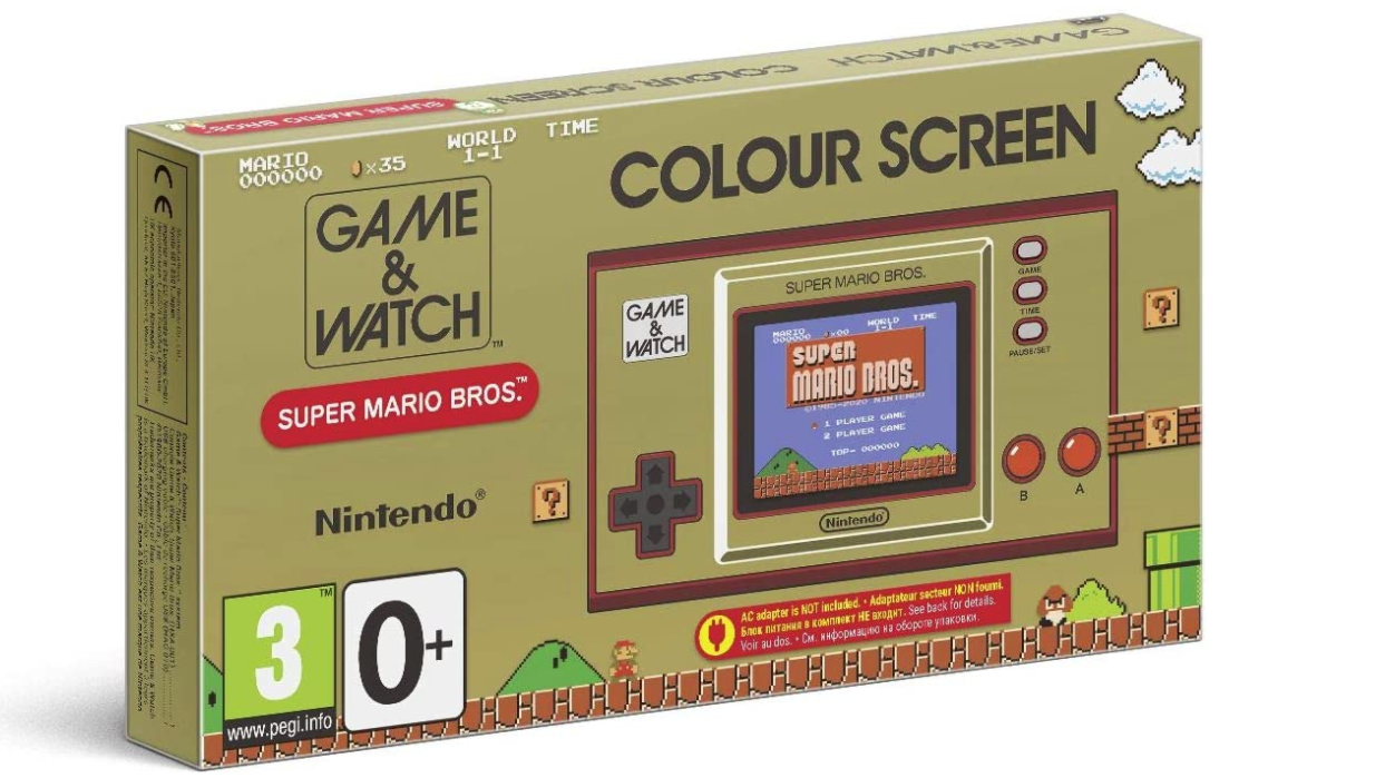Game and Watch Super Mario