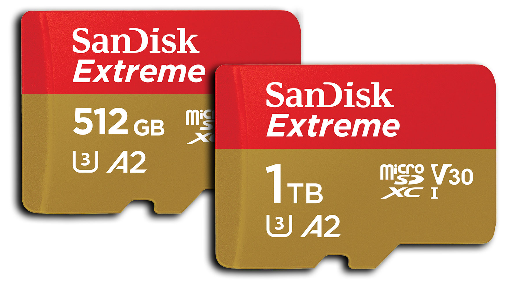 The SanDisk Extreme 1TB is the world's fastest UHS-I microSDXC memory card