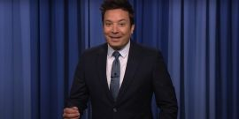 Jimmy Fallon Roasted Chris Harrison's Bachelor Exit, Even Tied In Logan Paul And Floyd Mayweather Fight