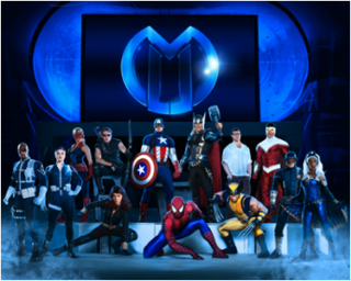 BlackTrax Delivers Technology Solution to Marvel LIVE!