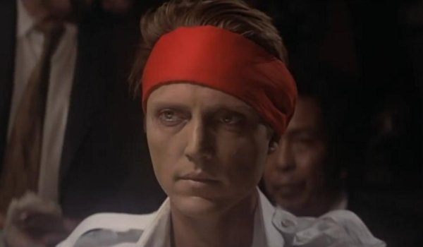 The Deer Hunter Christopher Walken preparing to play Russian Roulette