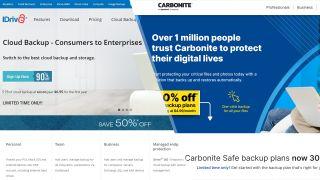 IDrive vs Carbonite
