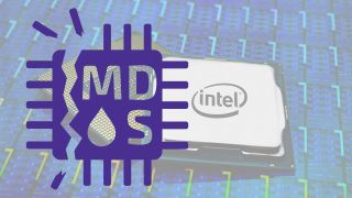 Intel CPU with MDS logo