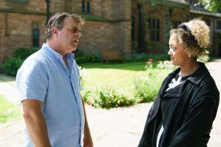 Coronation Street spoilers: Steve McDonald tells Emma he's her father!
