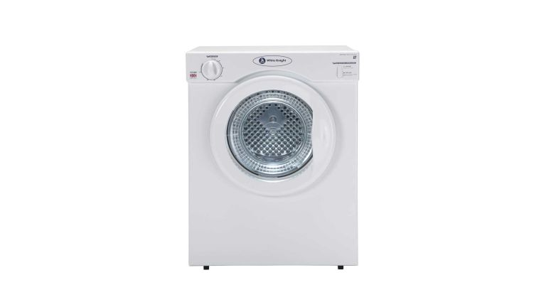 Small tumble dryer: White Knight C37AW Compact 3kg Tumble Dryer