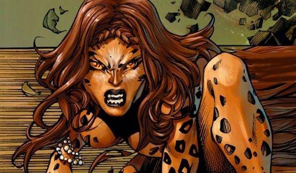 Cheetah Barbera Minerva Wonder Woman