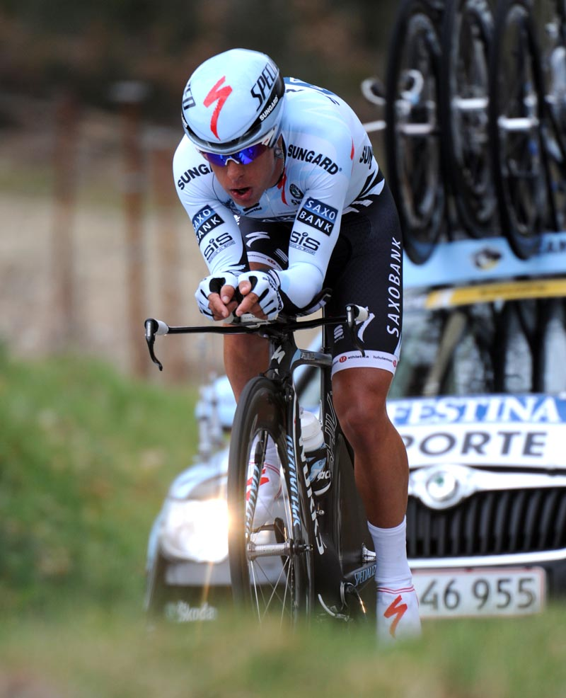 Richie Porte, Paris-Nice 2011, stage six TT