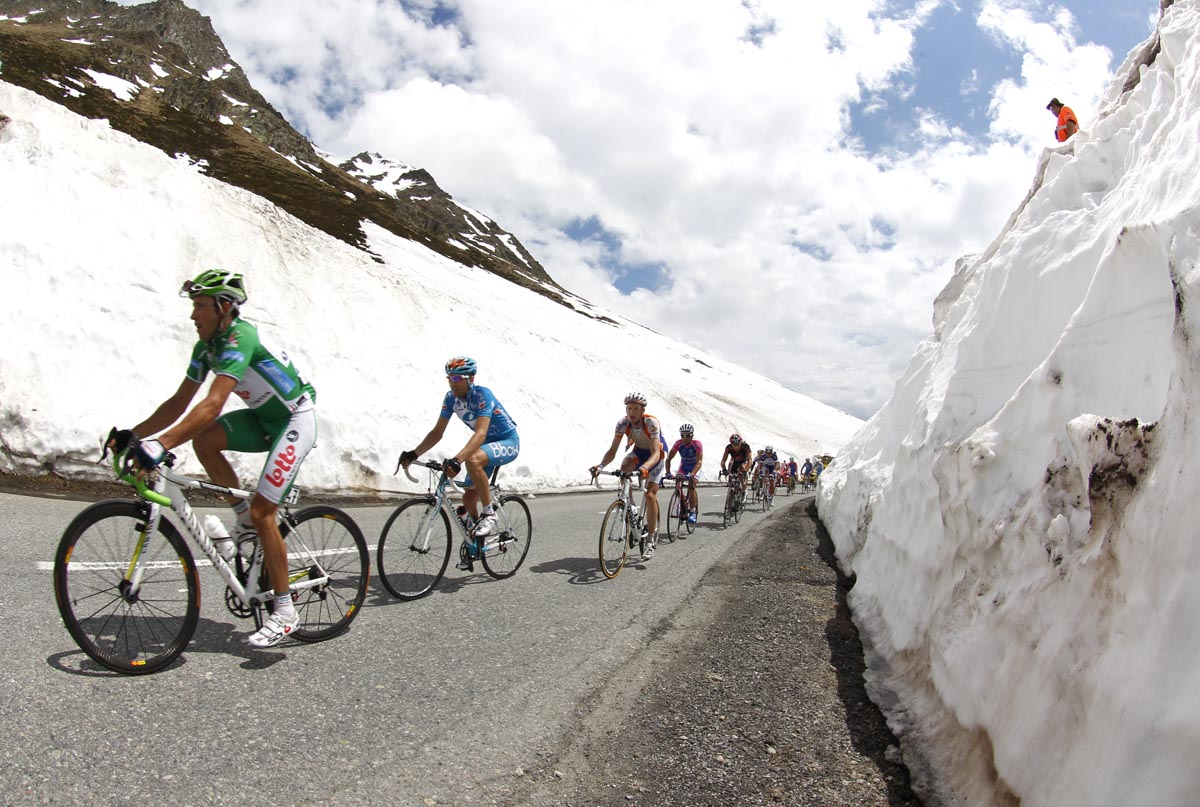 Matthew Lloyd escape, Giro d'Italia 2010, stage 20
