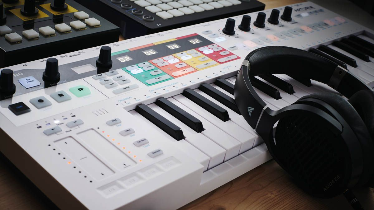 "A free firmware update means that Arturia's ""do-it-all"" KeyStep Pro MIDI keyboard and sequencer now does even more"