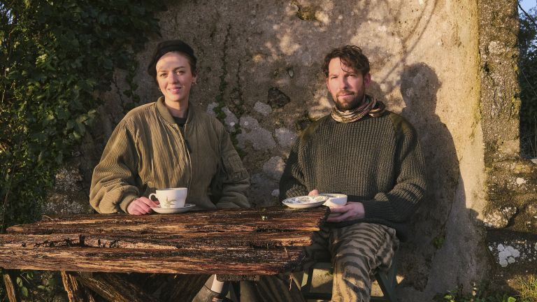 Frieda Gormley and Javvy M Royale in the countryside – house of hackney