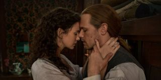 Claire and Jamie in _Outlander._