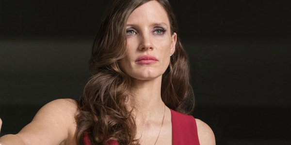 Jessica Chastain Molly Molly's Game Red Dress