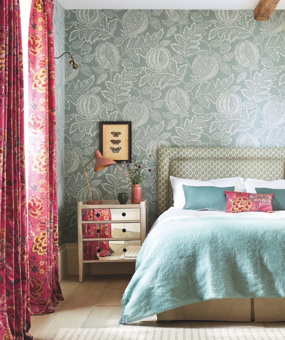 The stunning Sanderson Caspian 2020 collection fuses English country house with exotic influences