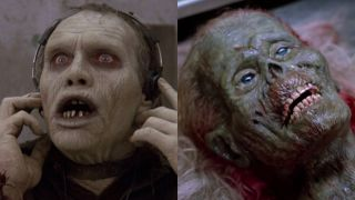 Sherman Howard in Day of the Dead: the half-zombie in The Return of the Living Dead