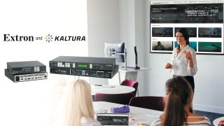 The Kaltura FlexOS App now seamlessly enables Extron SMP 300 Series streaming media processors to ingest recording and live streaming schedules for publishing to the Kaltura video management platform.