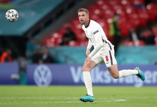 Jordan Henderson played his first minutes of the Euros in England's 1-0 win over the Czech Republic.