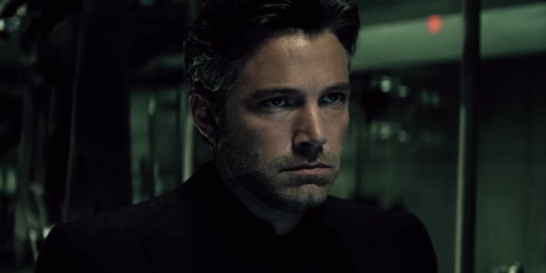 Ben Affleck as the extra-brooding Bruce Wayne in 2016's Batman v. Superman: Dawn of Justice