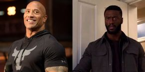 Black Adam Starts Filming And The Rock And Hawkman Actor Aldis Hodge Sound Pumped
