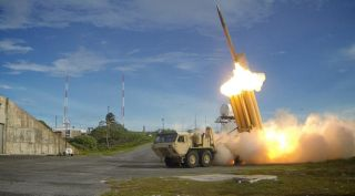 Army missile launch